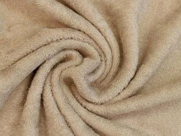 Frottee taupe Bambus